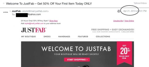 How to cancel Justfab VIP Membership