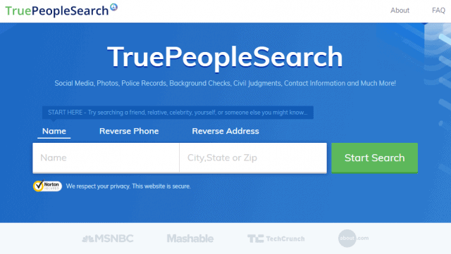TruePeopleSearch Removal