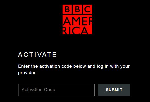 BBCAmerica.com activate