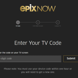 How to Activate EpixNow on Streaming Devices