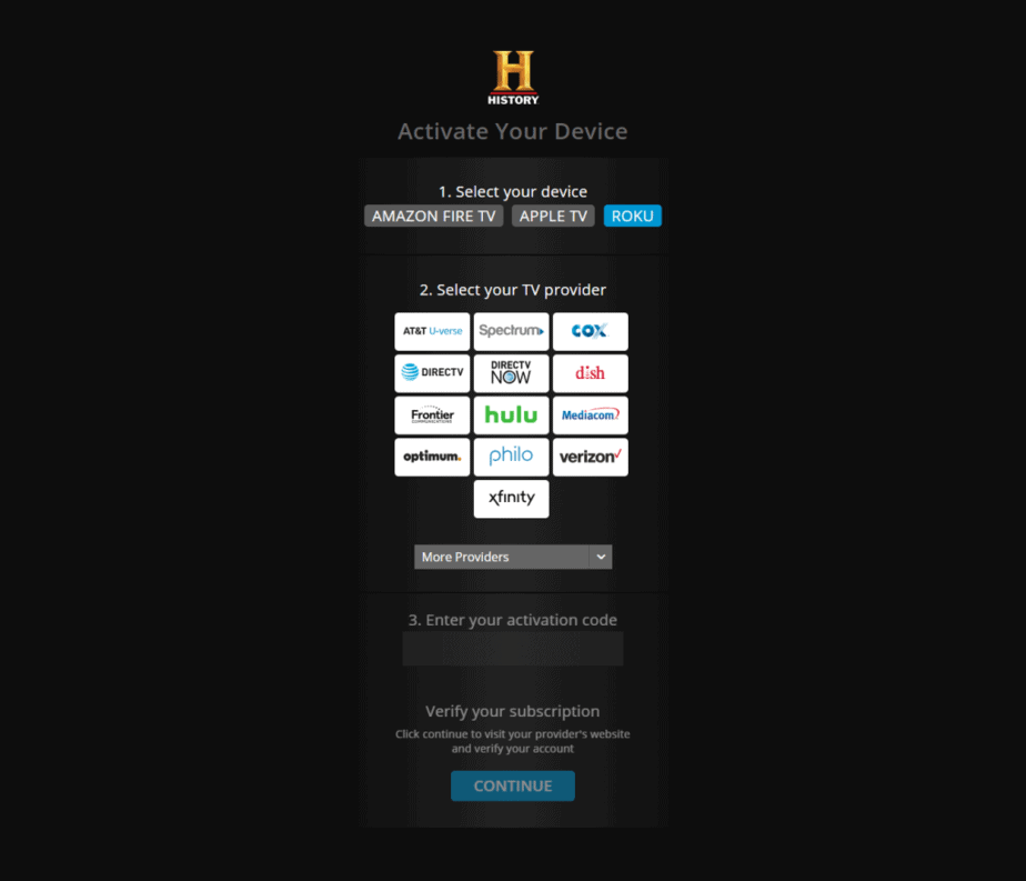 History.com Activate