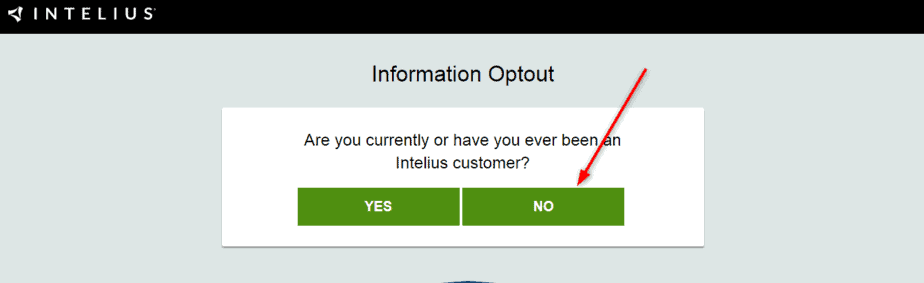 Intelius Opt Out