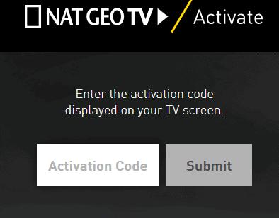 Natgeotv activate