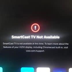 How to Fix Smartcast not Working on Vizio TV