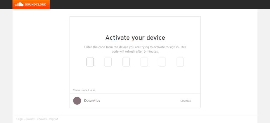 Soundcloud.com activate
