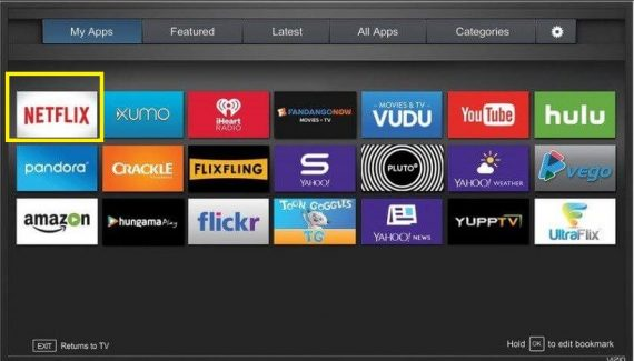 Netflix.com activate Vizio TV