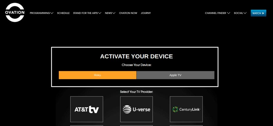 Ovationtv.com Activate
