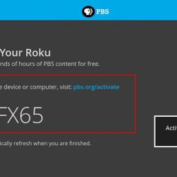 How to View and use PBS.org Activation Code