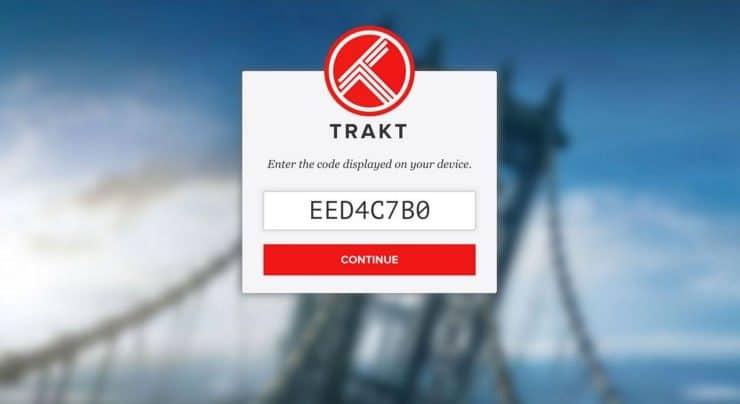 Trakt.tv/activate