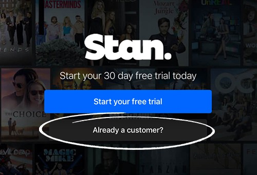 Stan.com.au activate