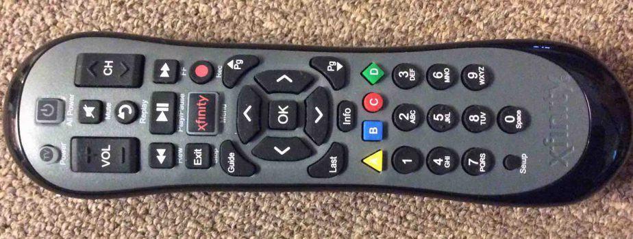 Pair Xfinity Remote to TV
