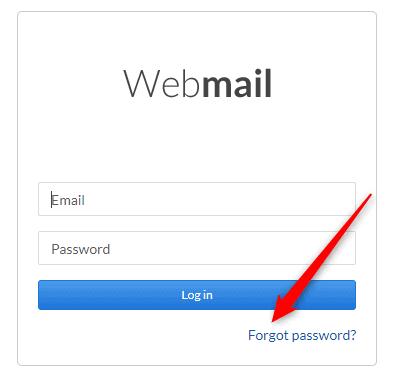 Shaw Webhosting password
