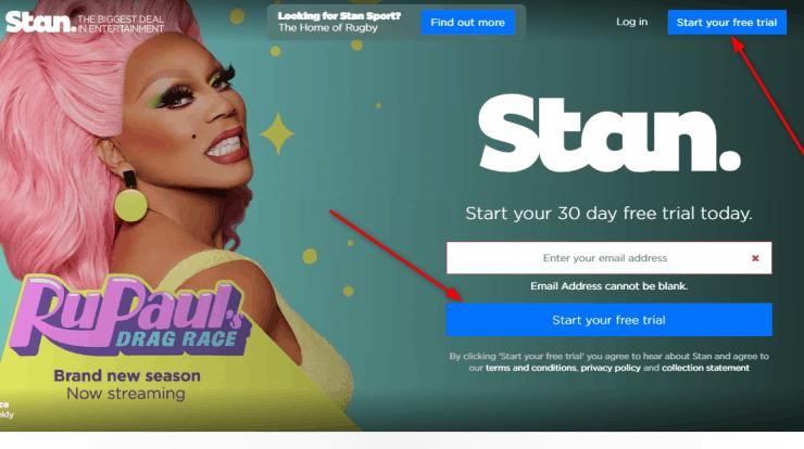 Stan Free trial