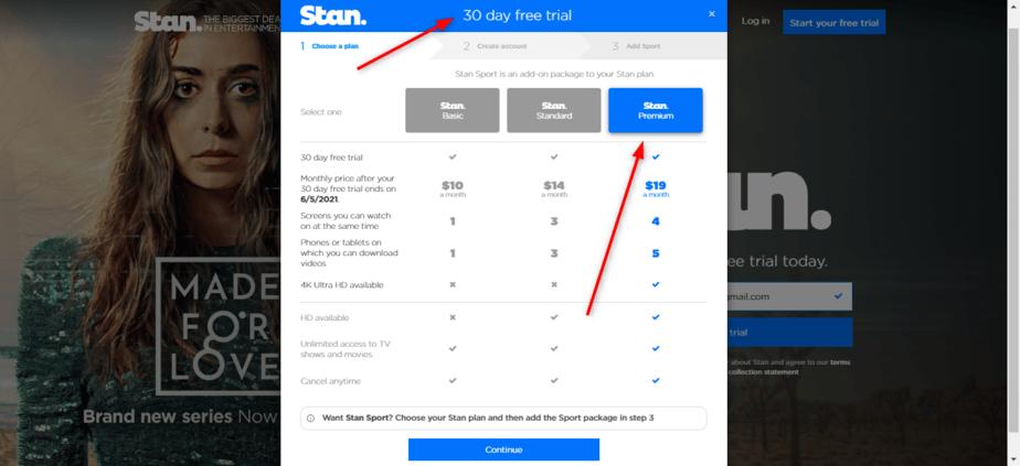 Stan premium plan