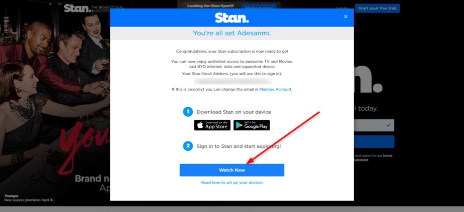 Stan free trial price