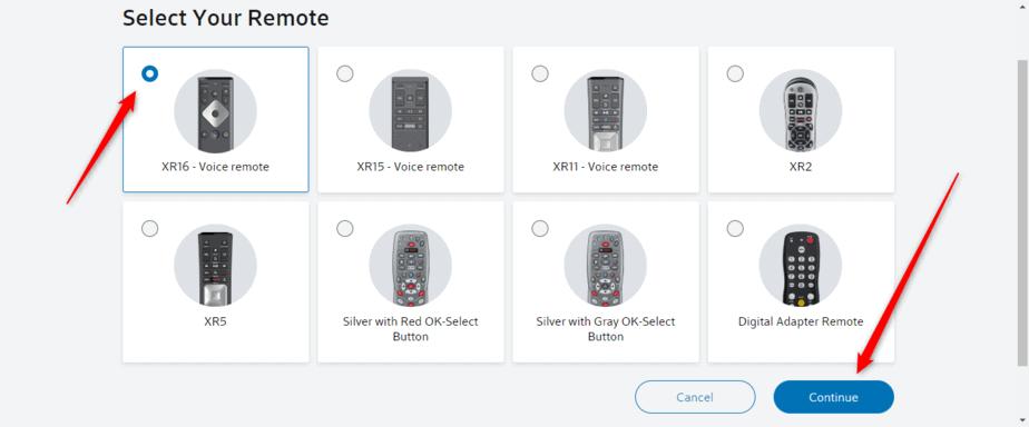 XR16 Remote Control