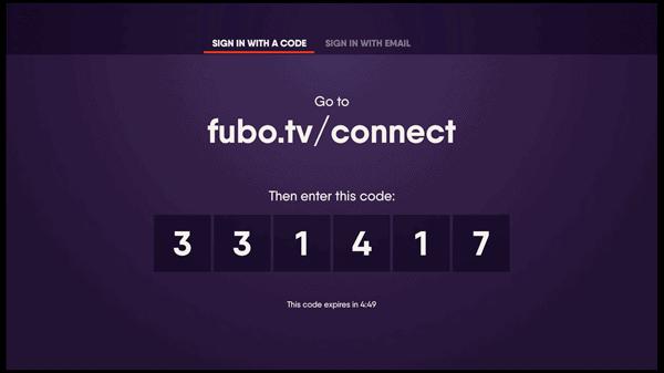 Fubo TV connect