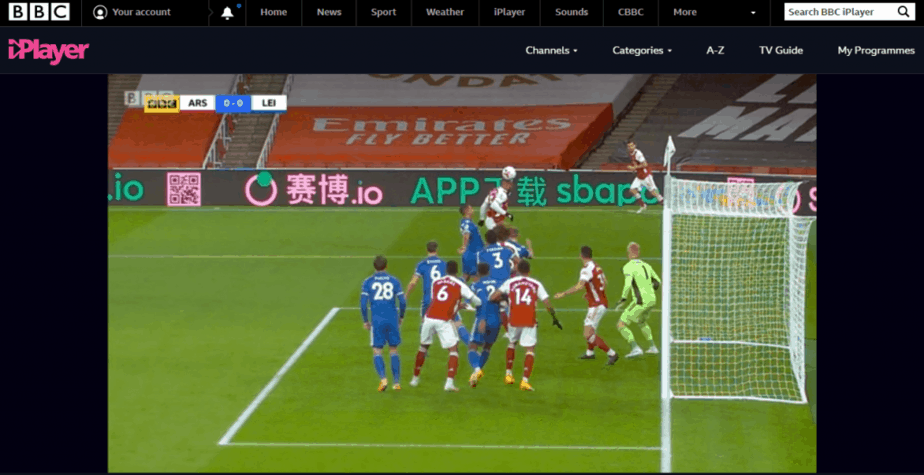 How to Watch Football on BBC iPlayer Live