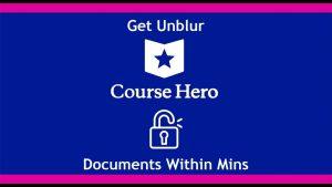 Unlock Course Hero