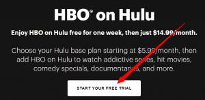 HBO Free trial Hulu