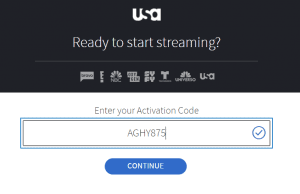 USANetwork activate