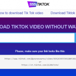 SSSTikTok: How to Download TikTik Videos as MP4 without Watermark